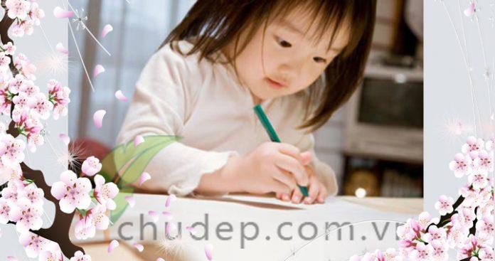dạy tiếng việt cho trẻ ở nhà
