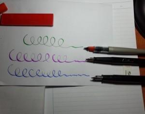 Bút máy không ra mực