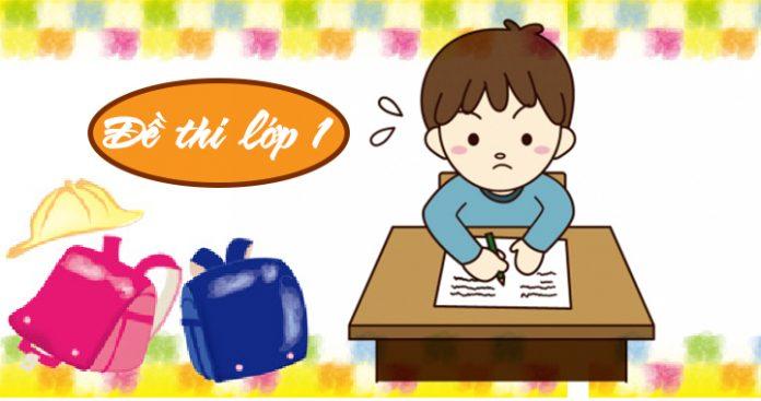 đề thi viết chữ đẹp lớp 1