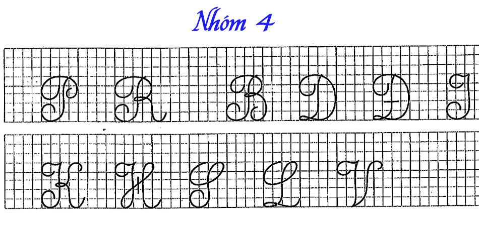 cách viết chữ đẹp cho người lớn